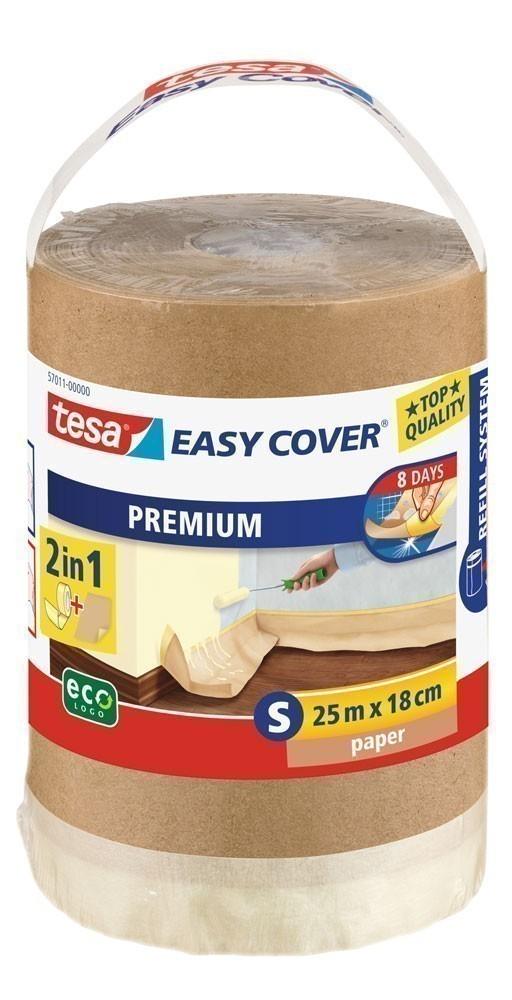 tesa® Easy Cover Premium Papier 25 m x 18 cm (Nachfüllrolle) Bild 1