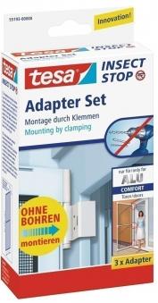 tesa® Insect Stop Adapter Set für Alu Comfort Tür weiß Bild 1