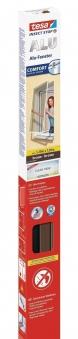 tesa® Insect Stop Fliegengitter Alu Comfort Fenster 1,2 x 1,5 m braun Bild 1