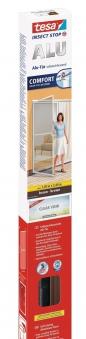 tesa® Insect Stop Fliegengitter Alu Comfort Tür 1,20 m x 2,40 m braun Bild 1