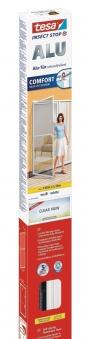 tesa® Insect Stop Fliegengitter Alu Comfort Tür 1 m x 2,20 m weiß Bild 1
