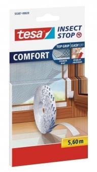 tesa® Insect Stop Fliegengitter Comfort Klettband-Ersatzrolle 5,6 m Bild 1