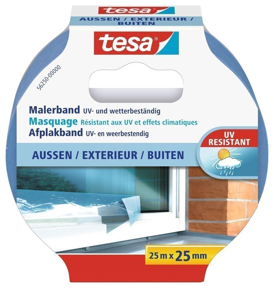 tesa® Malerband Aussen 25 m x 25 mm Bild 1