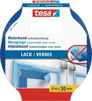 tesa® Malerband Lack 25 m x 30 mm Bild 1