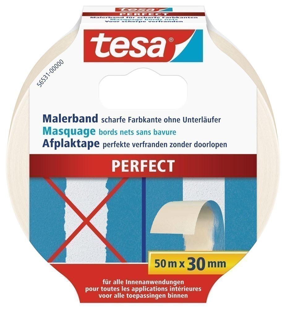 tesa® Malerband Perfect 50 m x 30 mm Bild 1