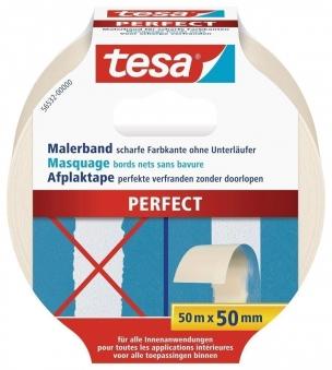 tesa® Malerband Perfect 50 m x 50 mm Bild 1