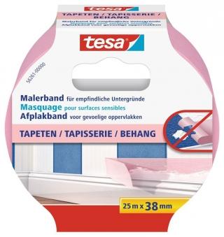 tesa® Malerband Tapeten 25 m x 38 mm Bild 1