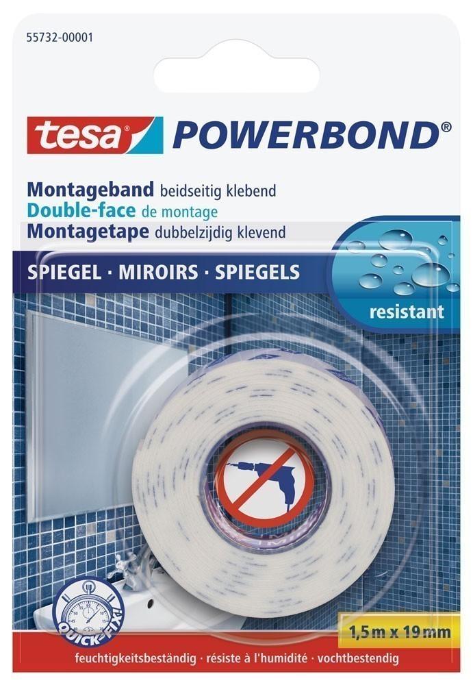 tesa® Powerbond Spiegel 1,5 m x 19 mm Bild 1