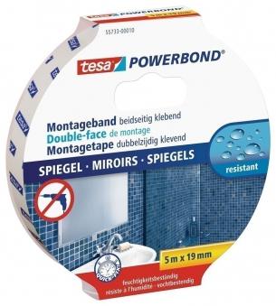 tesa® Powerbond Spiegel 5 m x 19 mm Bild 1