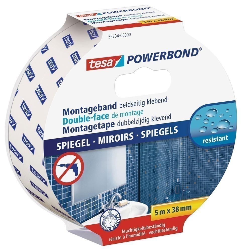 tesa® Powerbond Spiegel 5 m x 38 mm Bild 1