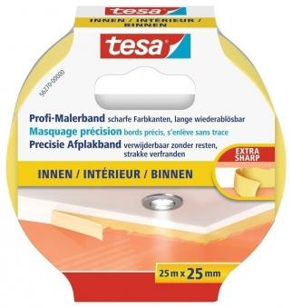 tesa® Profi-Malerband Innen 25 m x 25 mm Bild 1
