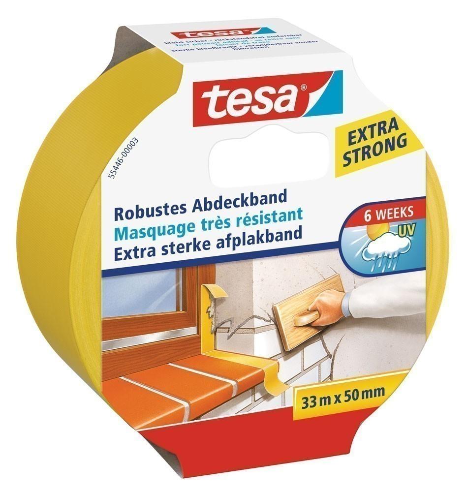 tesa® Robustes Abdeckband 33 m x 50 mm Bild 1