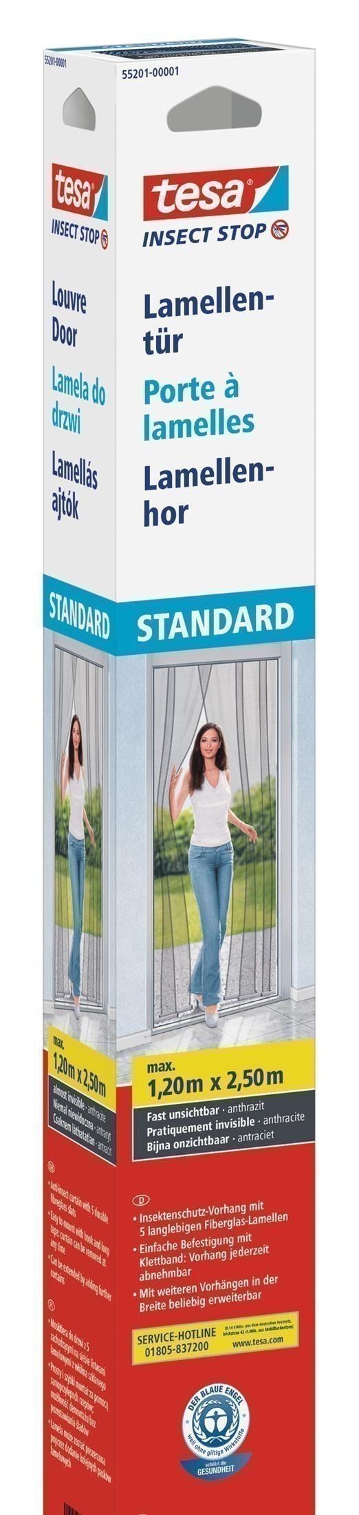 tesa insect stop fliegengitter lamellent r standard xl 1 2 m x 2 5 m bei. Black Bedroom Furniture Sets. Home Design Ideas