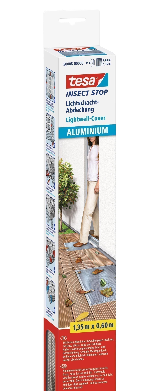 tesa Insect Stop Lichtschachtabdeckung Aluminium 135x60cm Bild 1