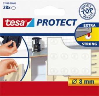 tesa Lärmstopper transparent 8mm Durchmesser Bild 1