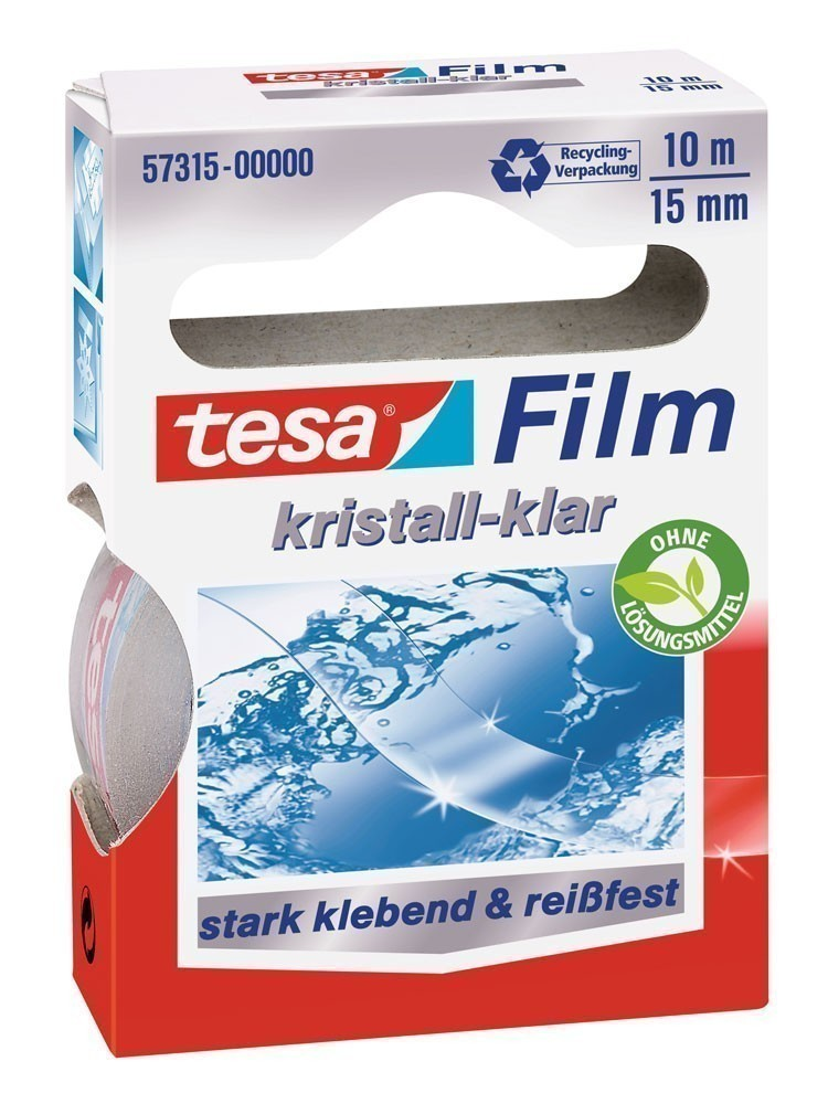 tesafilm® kristall-klar 10 m x 15 mm Bild 1