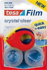 tesafilm m. Mini Abroller2Rll. 10m:19mm kristallkl Bild 1