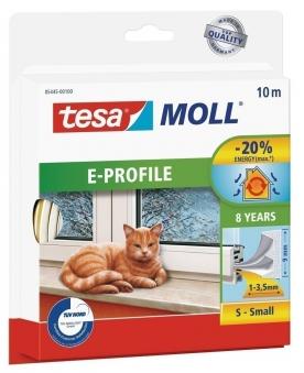 tesamoll® E-Profil Gummidichtung 9 mm x 10 m weiß Bild 1
