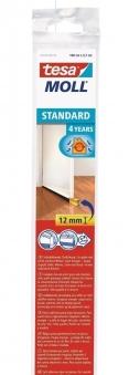 tesamoll® Standard Türdichtschiene für glatte Böden transp. 1m x 37mm Bild 1