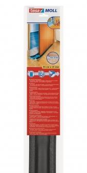 tesamoll® Türbodendoppeldichtung für glatte Böden anthr. 95cm x 25mm Bild 1