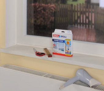tesamoll® Thermo Cover Fensterisolierfolie 1,7 x 1,5 m Bild 2