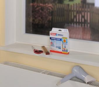 tesamoll® Thermo Cover Fensterisolierfolie 4 x 1,5 m Bild 2