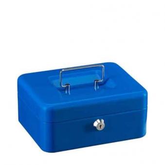 Burg Wächter Geldkassette Money 5020 blau 200x160x90mm Bild 1
