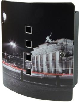 Burg Wächter Schlüsselkasten / Key Box Berlin Edelst.240x210x70mm Bild 1