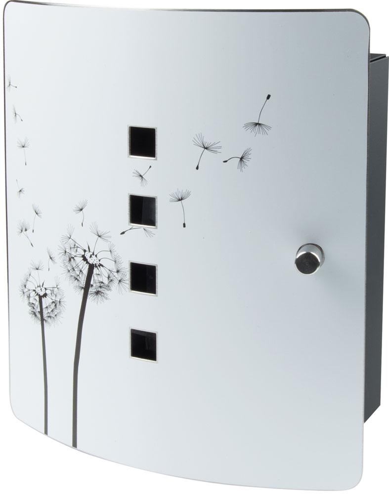 Burg Wächter Schlüsselkasten / Key Box Pusteblume Edelst.240x210x70mm Bild 1
