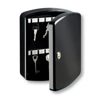Burg Wächter Schlüsselkasten / Key-Box schwarz 202x157x75mm Bild 1