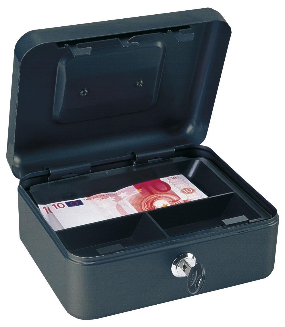 Rottner Geldkassette Homestar Cash 1 schwarz Bild 1