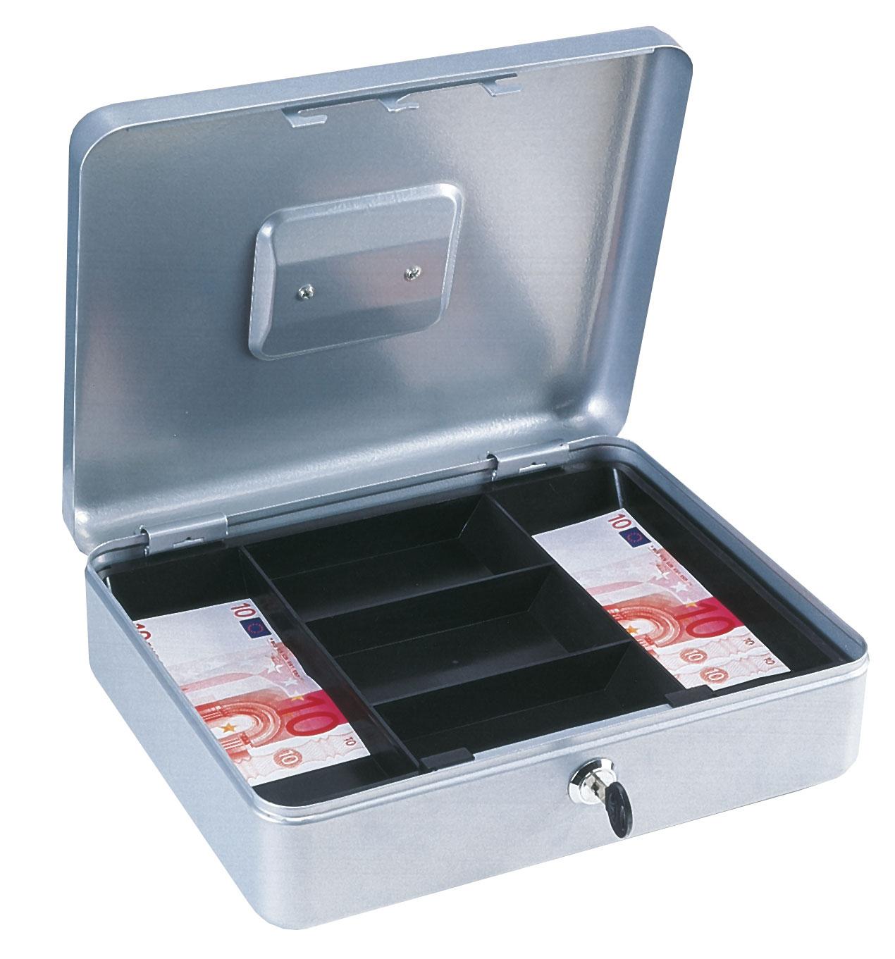 Rottner Geldkassette Homestar Cash 4 silber Bild 1