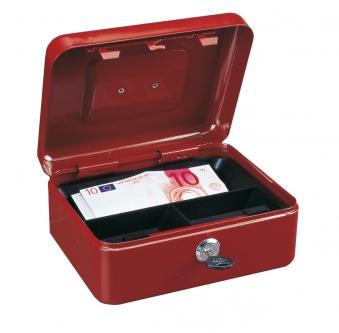 Rottner Geldkassette Traun 2 rot 90x200x165mm Bild 1