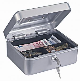 Rottner Geldkassette Traun 2 silber 90x200x165mm Bild 1