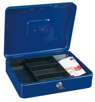Rottner Geldkassette Traun 4 blau 90x300x245mm Bild 1