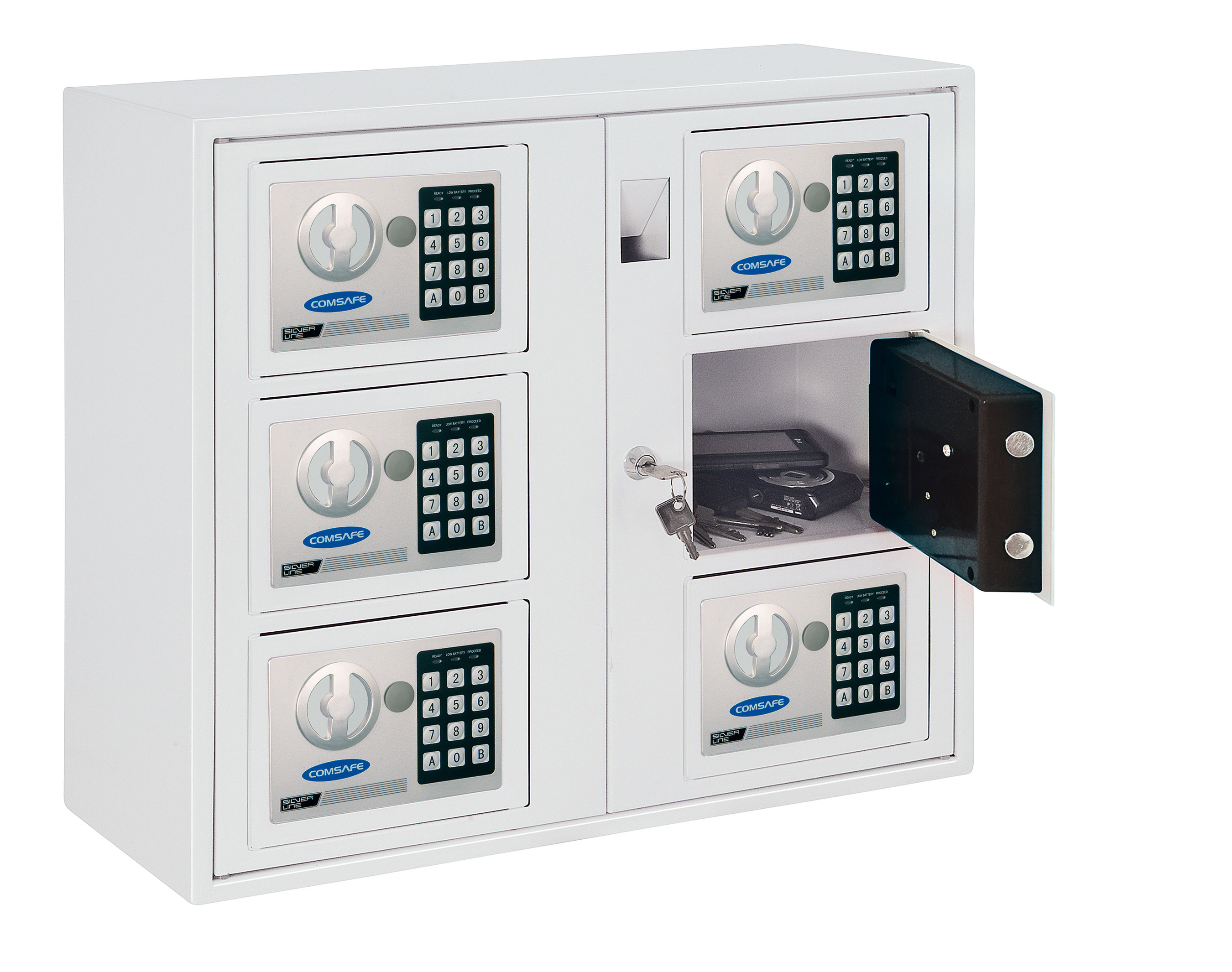 Rottner Schlüsselausgabe-System KeySystem 6 465x535x170mm Bild 1