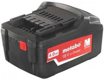 Metabo Ersatzakku / Akkupack 18V, 4,0Ah Li-Power Air-Cooled
