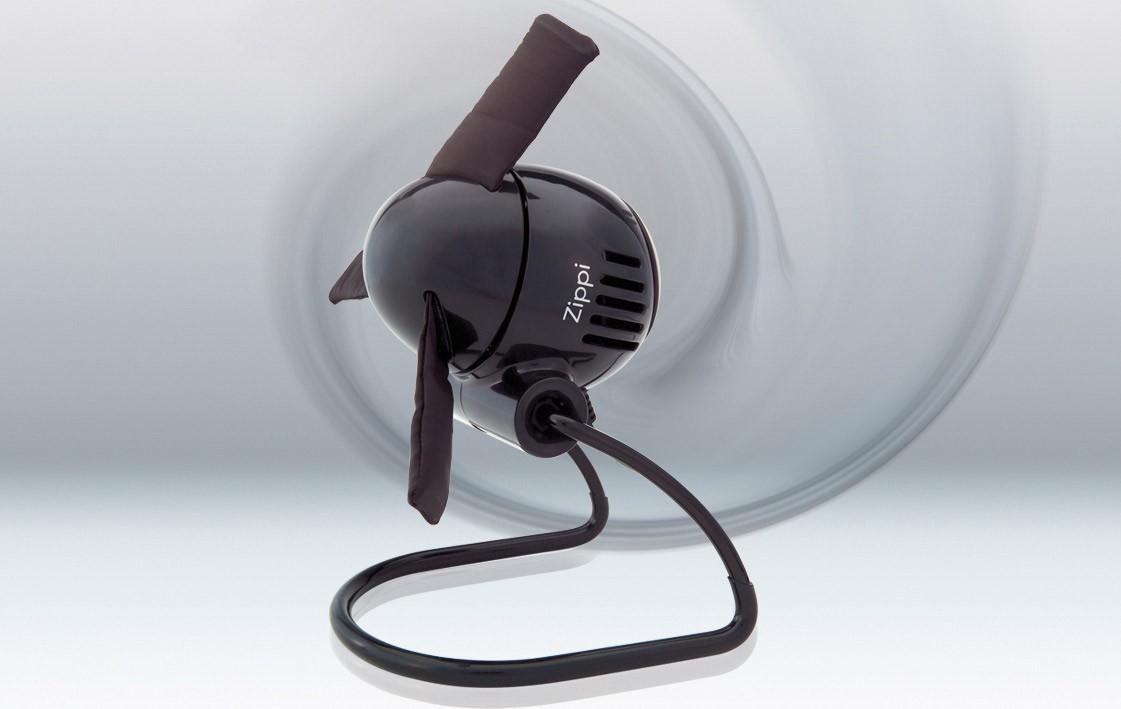 Ventilator / Tischventilator Vornado Zippi klappbar schwarz Ø 18,8cm Bild 3