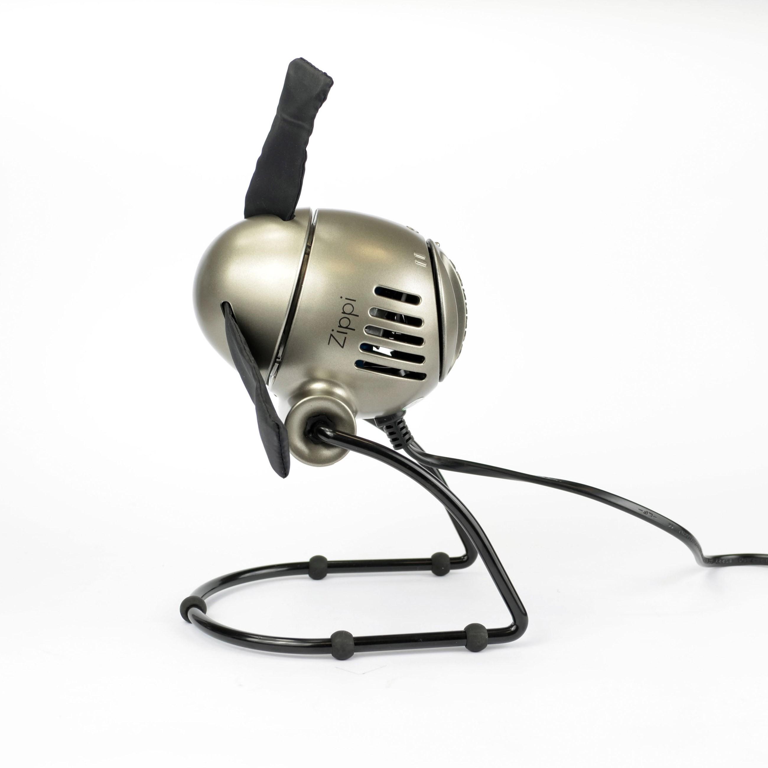 Ventilator / Tischventilator Vornado Zippi klappbar silber Ø 18,8cm Bild 1