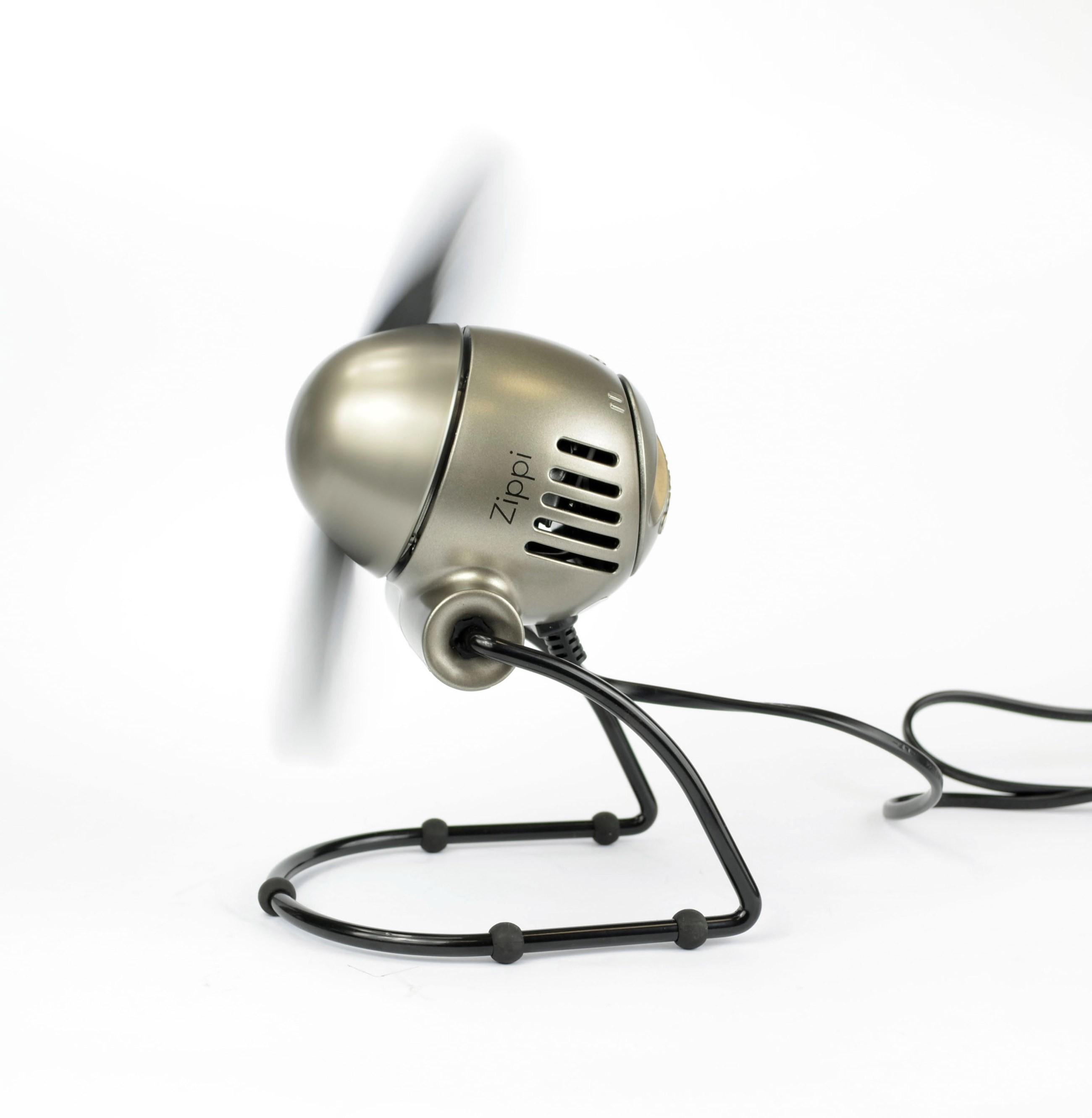 Ventilator / Tischventilator Vornado Zippi klappbar silber Ø 18,8cm Bild 2