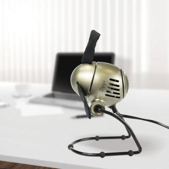 Ventilator / Tischventilator Vornado Zippi klappbar silber Ø 18,8cm Bild 3