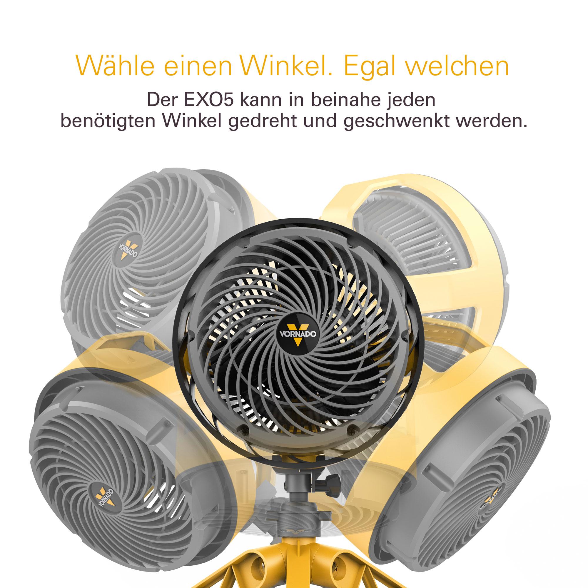 Ventilator / Zirkulator Vornado Heavy Duty EXO5 Bild 3