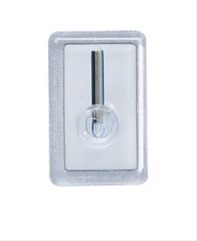Gardinenhaken transparent 4er/Blister Bild 1