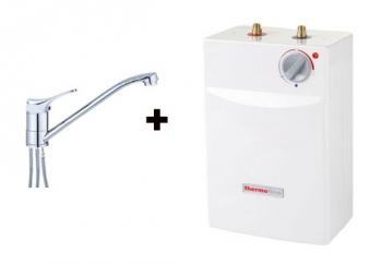 untertischboiler thermoflow ut5 5l mit einhebelmischer qmix700nd bild 1. Black Bedroom Furniture Sets. Home Design Ideas