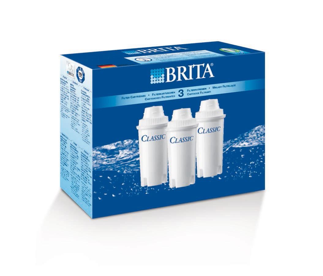 Brita Filterkartuschen Classic 3er Pack für Wasserfilter Bild 2