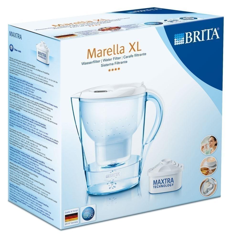 Brita Wasserfilter Marella XL weiß 3,5 Liter Bild 2