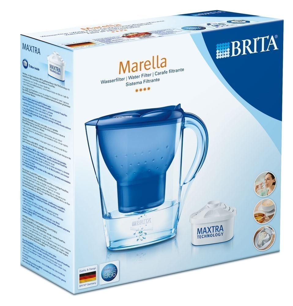 Brita Wasserfilter Marella cool blau 2,4 Liter Bild 2