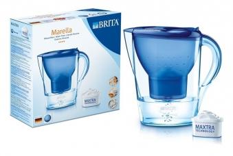 Brita Wasserfilter Marella cool blau 2,4 Liter Bild 1