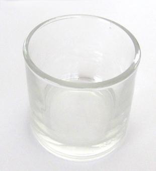 Teelichtglas / Teelichthalter Bild 1