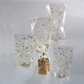 Klarsichttüten Weihnachten / Zellglas-Beutel 9x16cm 10Stck Bild 1